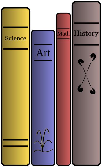 books_standing